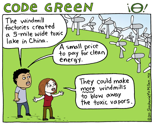 Code Green Windmills