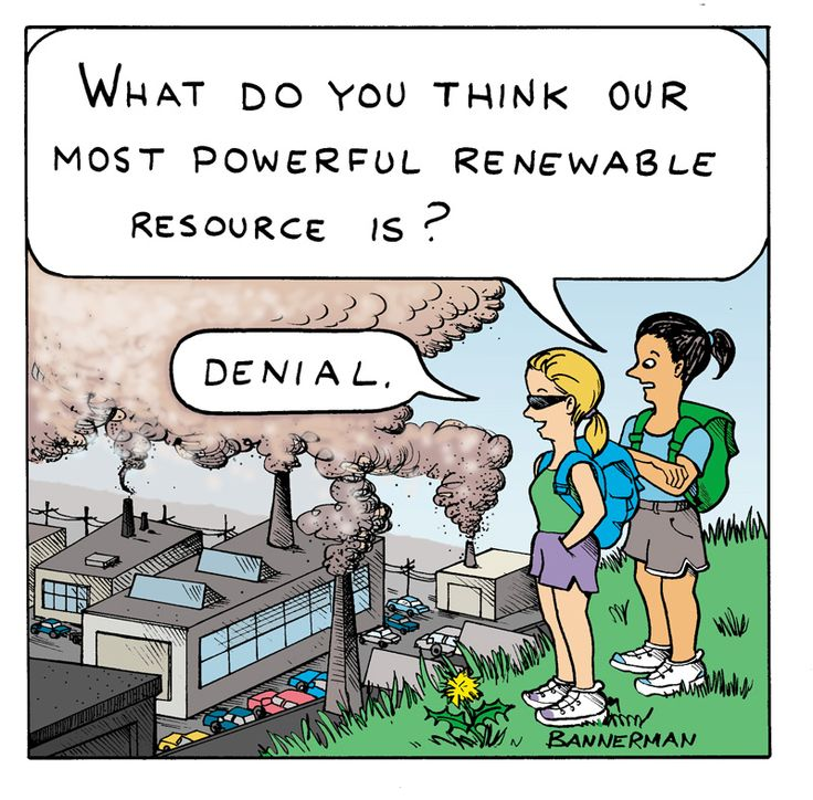 Denial as Renewable Resource