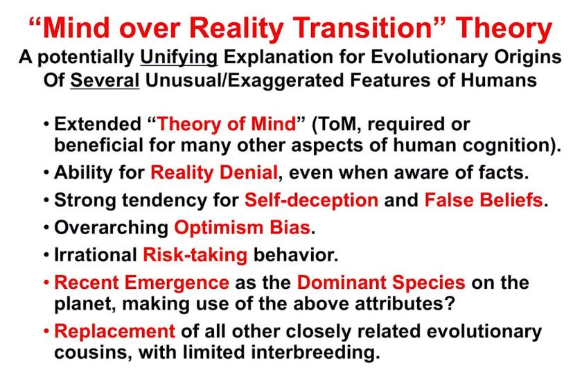 Mind-over-Reality-Transition (MORT) Implikationen